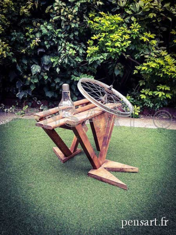 Mobilier design- Table en bois