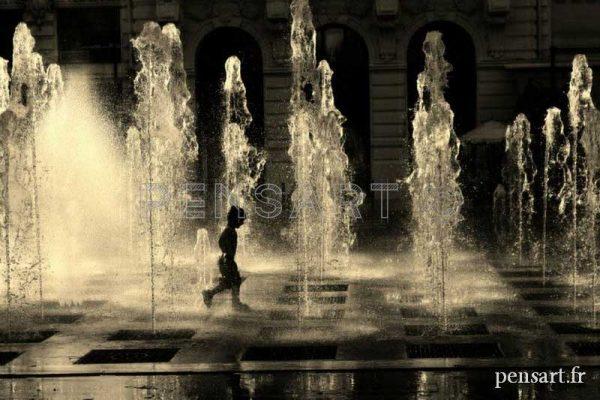 photographies noir et blanc d'enfant