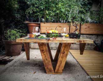 Table basse tabula rasa