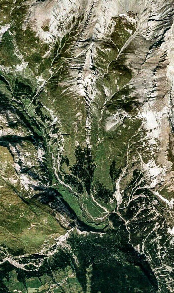 Alpes- Photo aérienne