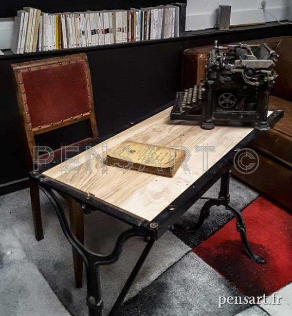 Mobilier- Bureau style indus