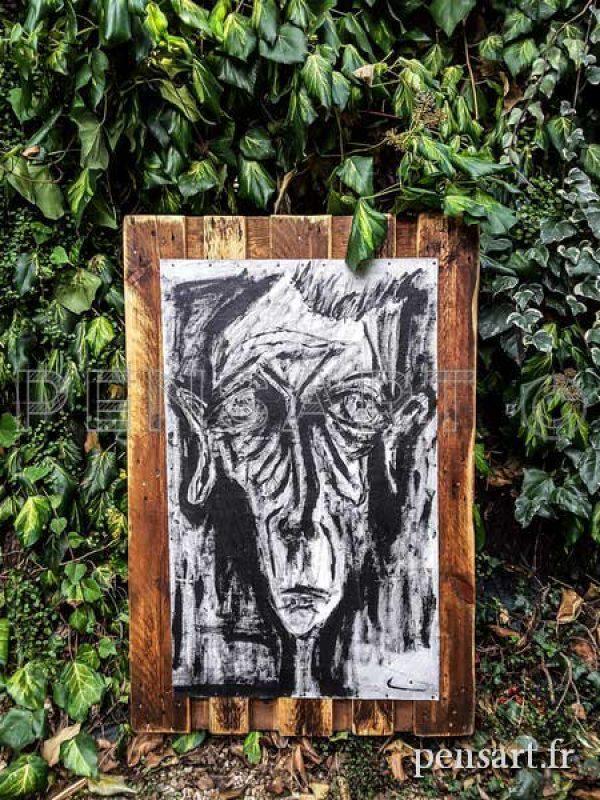 Objet de déco- Peinture d'artiste