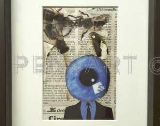 Collage- Le regard des fourmis