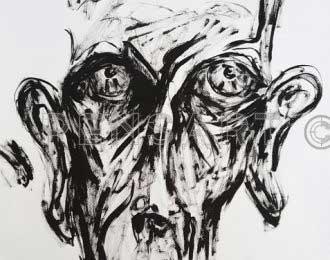 Dessin- Peinture Samuel Beckett