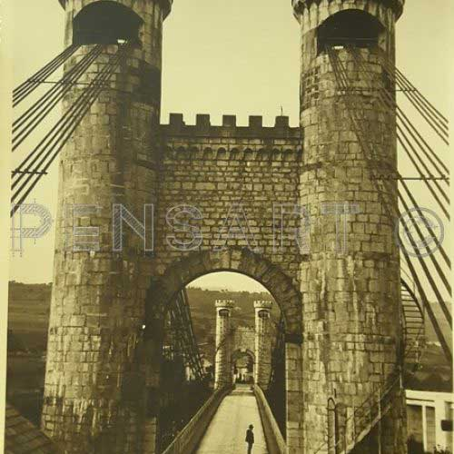 Pont de la Caille- Photo ancienne