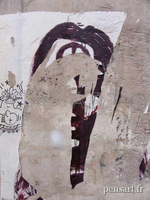 Art urbain- Rue de Paris