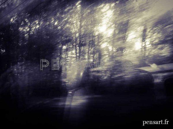 Voyage en train- Photographie paysage