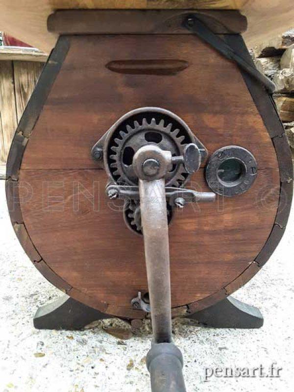 Mécanisme acier massif de table basse