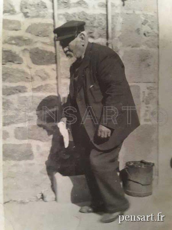 Vieux monsieur- Photographie argentique