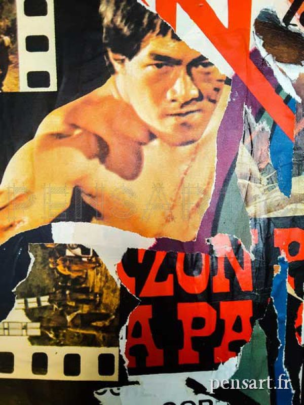 Bruce Lee- Collage