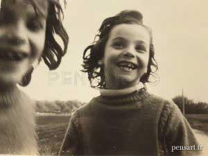 Sœurs jumelles- Photographie d'anonyme