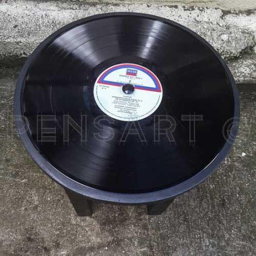 Tabouret vinyle chopin
