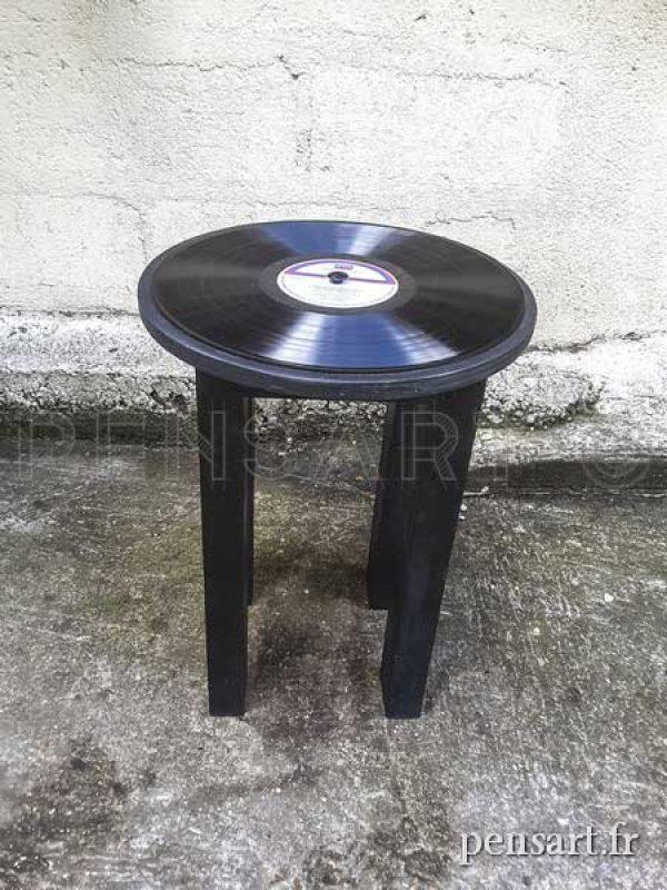 Tabouret vinyle