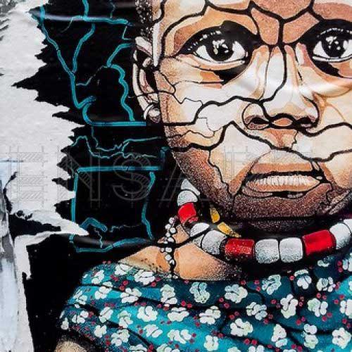 Photo d'une petite fille- Affiche art