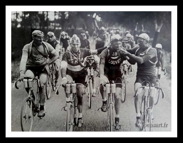 Tour de France- Photo noir et blanc