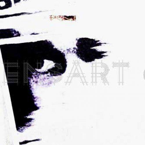 visage-noir-et-blanc-photo-affiche-dechiree