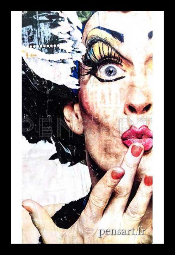 art-affiche-dechiree-travesti-paris