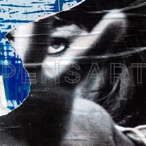 Affiche déchirée- Anna Karina-Pierrot le fou