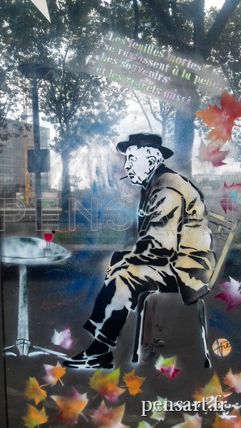Photographie urbaine- Prévert