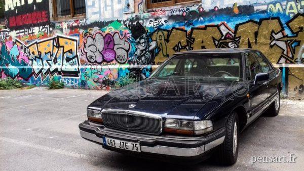 Photographie urbaine- voiture