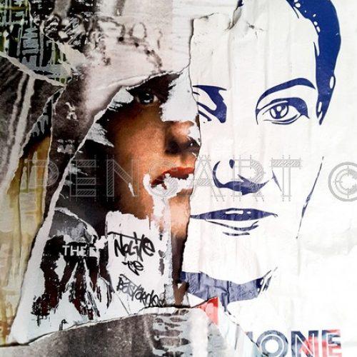 Photo urbaine- Handmaid's Tale- Simone Veil