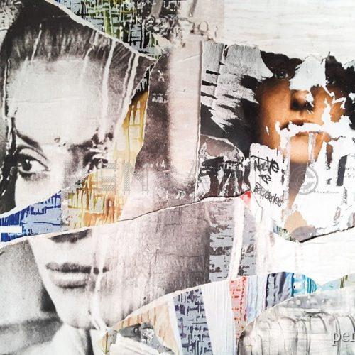 Affiche déchirée- Handmaid's Tale et Catherine Deneuve