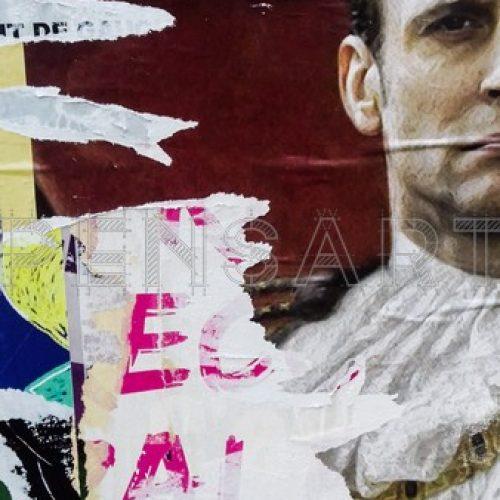 photo-affiche-déchirée-Macron