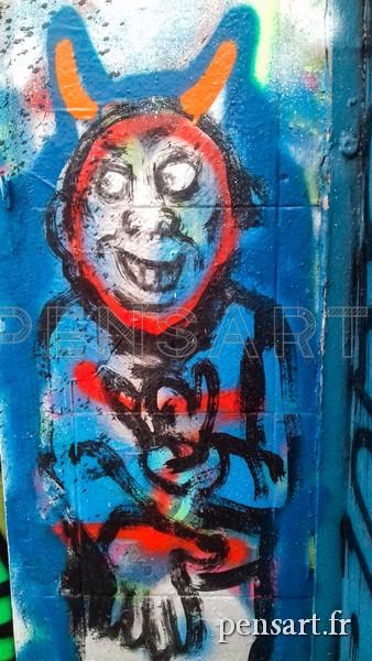 Street Art- Le diable