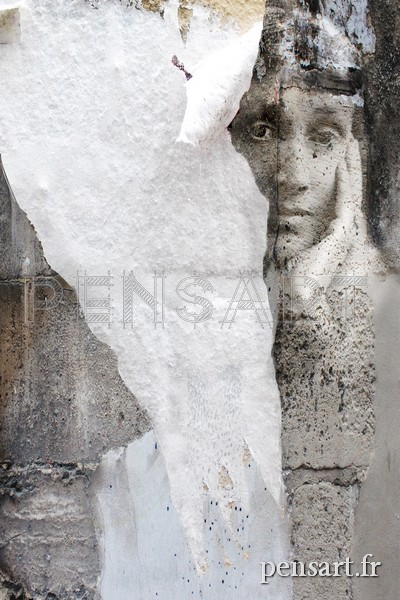 Affiche déchirée- Virginia Woolf